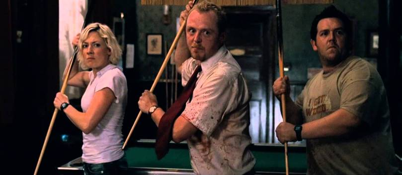 shaun of the dead pool cues